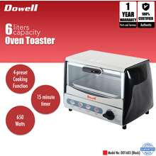 Dowell 6L Oven Toaster DOT-603 (Black)