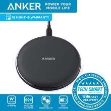 Anker Powerwave Pad Wireless Charger 10W Max, 7.5W For Iphone