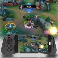 MOCUTE 058 Universal Wireless Game Controller Mobile Joystick Bluetooth Gamepad For Android IOS Windows (Used for the mobile phone within 6.8 inch)