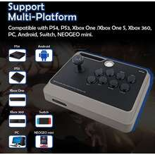 Mayflash F300 Elite Arcade Stick With Sanwa Button & Joystick For Ps4