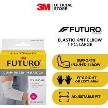 3M Futuro Elastic Knit Arm Compression Sleeves - Large