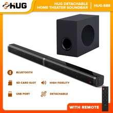 Hug Detachable Soundbar With Subwoofer - -888