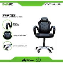 Novus Gaming Chair Cgw-100 Black/Red, Black/White, Black Best And Affordable Gaming Chair