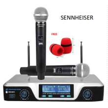 Sennheiser EW-9851 WIRELESS MICROPHONE SET WITH FREE FOAM