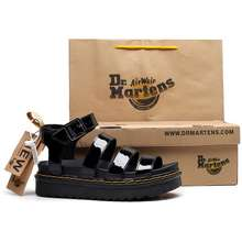 Dr. Martens Dr. Martens Air Wair Thick-Soled Women'S Sandals Leather Sandals