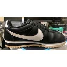 Nike Original Black Classic Cortez Leather Shoes