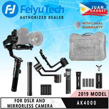 Feiyutech Ak4000 3-Axis Motorized Gimbal Stabilizer For Cameras