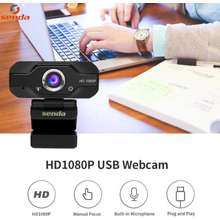 SENDA Full HD 1080P Camera | HD Video Call for PC and Laptop with Microphone | Webcam for pc | Webcam