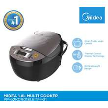 Midea Multi-Cooker 1.8L With Smart Fuzzy Logic Control And Thermal Technology. Fp-62Kcr018Letm-G1