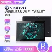 "Vinovo V10 10.1"" Wi-Fi Dual Sim Cellular Hd Screen Tablet"