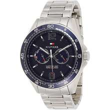 Tommy Hilfiger Mens Sophisticated Sport Quartz Watch with Stainless-Steel Strap Tone 22 (Model: 1791366)