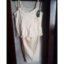 Marks & Spencer Women'S 2-Pc Pjama Set, Yellow Size 12