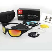 Under Armour Sunglasses With Three Pairs Of Lenses