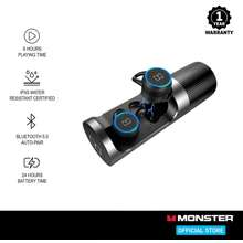 Monster Clarity 101 Airlinks Bluetooth Wireless Black/Silver