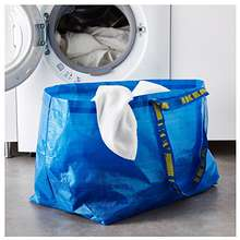IKEA Large Shopping Bag Blue
