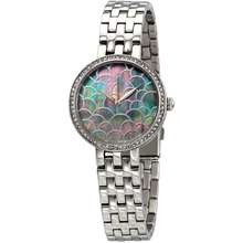 Lucien Piccard Ava Black Mother of Pearl Dial Ladies Watch LP 28022 11MOP