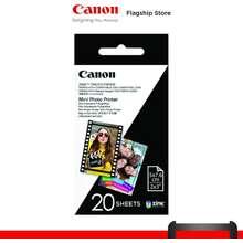 Canon Zink™ 2 X3 Photo Paper (20 Sheets) - Zp-2030-20
