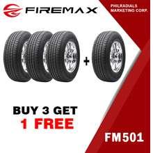 Firemax 245/70 R16 107T FM501 Quality SUV Radial Tire Buy 3 Get 1 FREE