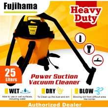 Fujihama Vacuum Cleaner 25 Liters HEAVY DUTY 1400 watts 3 IN 1