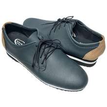 Otto 10500210 Men'S Plain Toe Derby Shoes In Fatigue