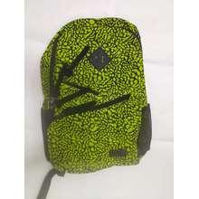 Technopack Backpack Green Printed
