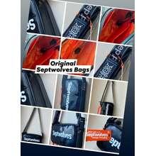 SEPTWOLVES Authentic Crossbody Sling Bag Black