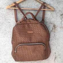 Giles N Brooks Authentic Backpack Leather