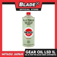 Blade Mitasu Gear Oil GL-5 75w-90 MJ-411 Fully Synthetic 1L