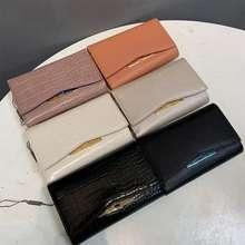 Charles & Keith Cnk Ladies Wallet Simple Card Storage Multifunctional Wallet Card Holder Ck6-10770221