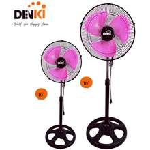 "Denki 16"" Pink Stand Fan - Buy 1 Take 1"