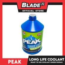 Blade Peak Long Life Ready Use Antifreeze Coolant 500mL