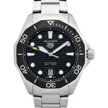TAG Heuer Aquaracer Automatic Black Dial Stainless Steel Men's Watch