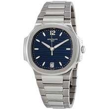 Patek Philippe Nautilus Automatic Blue Opaline Dial Ladies Watch 7118/1A