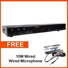 Lexing Original 7045 Dvd Player / Karaoke - With Free Microphone
