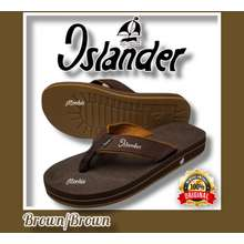 Islander Brown Mens 100% Authentic and Original Colored slippers (Makapal)