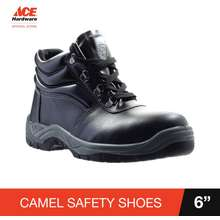 """Camel Low-Cut 6"""" Safety Shoes W/ Steel Toe"""