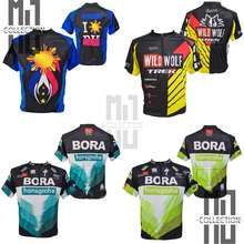 Short Sleeve Racing Bike Cycling Jersey   Bicycle Jersey With Zipper & Back Pockets