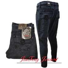 Tribal Best Selling Acid Black Skinny Jeans For Men #9908