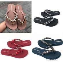 Juicy Couture Swarovski Flat Sandals / Juicy Flip Flops
