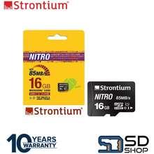 Strontium Nitro Srn16Tfu1Qr 16Gb Micro Sdhc Card