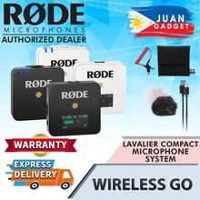 Rode Wireless Go Compact Lavalier Wireless Microphone System