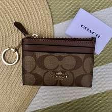 Coach Card Case / Card Holder / Coin Case Wallet