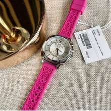 Coach Watch For Women Rubber Strap With Box And Paperbag