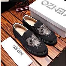 Kenzo 100% Original Black Slip On Shoes For Men