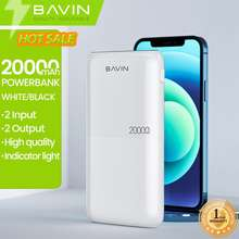 Bavin 20000Mah - 10000Mah Fast Charge Slim Portable Powerbank Series W/ Dual Input & Usb Output