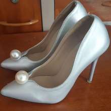 private label Woman Shoes Silver / Wedding Shoes Intl