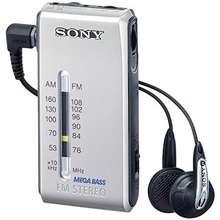 Sony Srf S84 Fm Am Super Compact Radio Walkman With Mdr Fontopia Ear Bud Silver