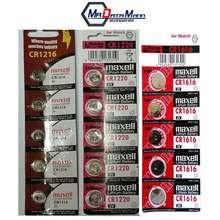 Maxell Original Cmos Cr1216 1220 1616 Packs Of 5