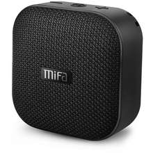 MIFA Bluetooth Speaker Portable True Wireless Speaker with HD Sound &amp Bold Bass IP56 Dustproof &amp Waterproof 12-Hour Playtime Micro SD Card Slot Built-in Mic A1 (BLACK)
