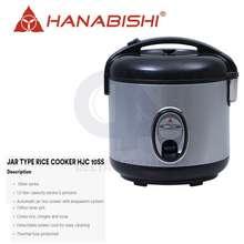Hanabishi Jar Type Rice Cooker 1.0L Hjc 10Ss